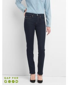 JEANS MUJER STRAIGHT RINSE
