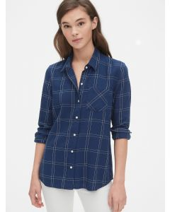 BLUSA MUJER PLAID FLANNEL