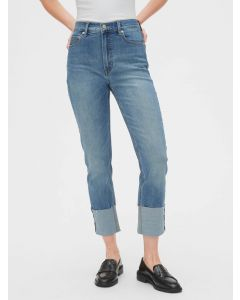 JEANS HIGH RISE CIGARETTE MUJER