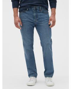 JEANS STRAIGHT MEDIUM WASH HOMBRE