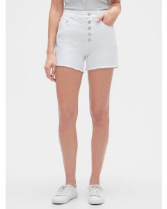 SHORT JEANS BLANCO MUJER