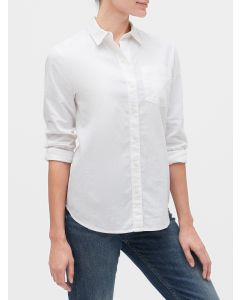 BLUSA LINO BLEND MUJER