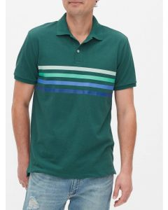 POLO CHEST STRIPE HOMBRE