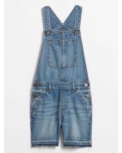 OVERALL SHORT DENIM NIÑA