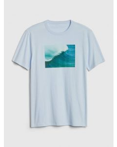 POLO GRÁFICA GREAT WAVE HOMBRE
