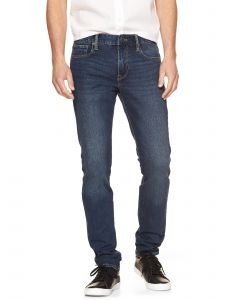 JEANS SKINNY DUSTED INDIGO HOMBRE